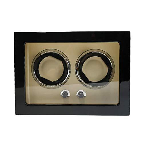 KYCD Double Automatic Uhrenbeweger Aufbewahrungsboxen mit leisem Motor für Männer oder Frauen, Organizer Storage Vitrine Box (Antike Taschenuhr-vitrine)