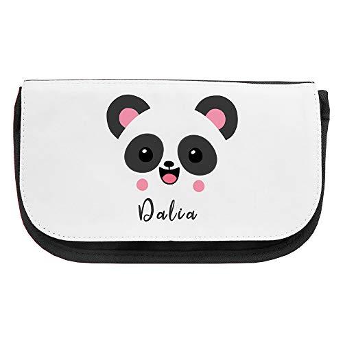 Kosmetiktasche mit Namen Dalia und Panda-Motiv | Schminktasche | Viele Vornamen zur Auswahl Dalia Bar