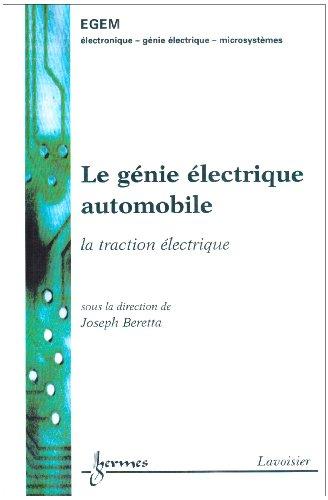 Génie électrique automobile : la traction électrique