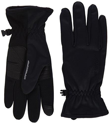 Ziener Herren Italian GWS Touch Glove Multisport Handschuh, Black, 8,5