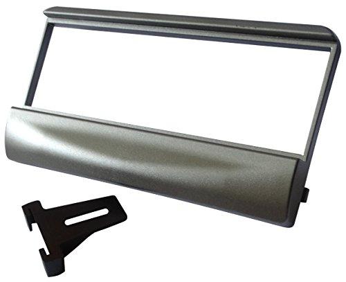 AERZETIX: Marco adaptador para radio de coche, vehiculos Color: gris antracita C11147