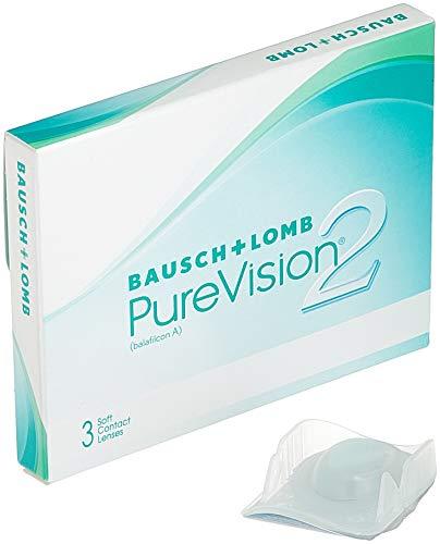 PureVision2 HD Monatslinsen weich, 3 Stück BC 8.6 mm / DIA 14 / -1.75 Dioptrien