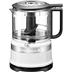 KitchenAid Mini Robot Ménager Classic, Blanc 0.83 Litre, 240