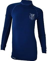 Maillot thermique fit BARCA - Collection officielle FC BARCELONE - Taille enfant garçon