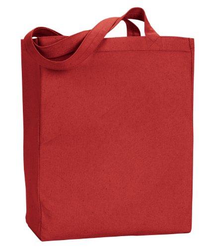 Liberty Bags Tote. 8861 Susan, in tela rosso