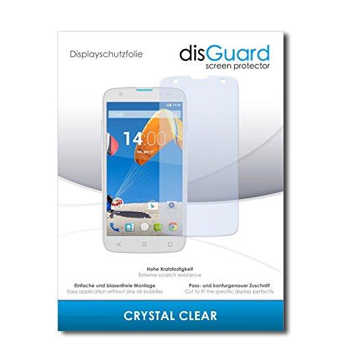disGuard® Bildschirmschutzfolie [Crystal Clear] kompatibel mit MobiWire Taima [4 Stück] Kristallklar, Transparent, Unsichtbar, Extrem Kratzfest, Anti-Fingerabdruck - Panzerglas Folie, Schutzfolie