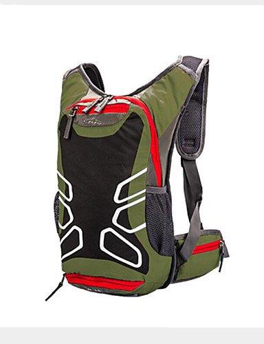 HWB/ 15L L Tourenrucksäcke/Rucksack / Radfahren Rucksack / Rucksack Camping & Wandern / Klettern / Reisen OutdoorWasserdicht / Wärmeisolierung Black