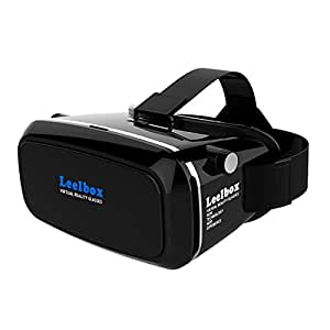 leelbox casque de r alit virtuelle 3d vr pour jeux et films compatible avec les iphone 6s 6. Black Bedroom Furniture Sets. Home Design Ideas