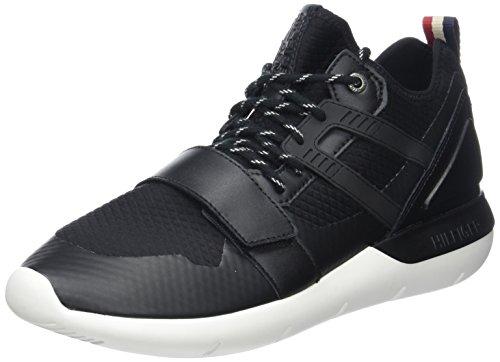 Tommy Hilfiger B2385olt 1c, Sneakers Basses Homme Noir (Black 990)