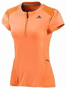 Adidas Running damen As half zip t Damen Gloora, Größe Adidas:XL
