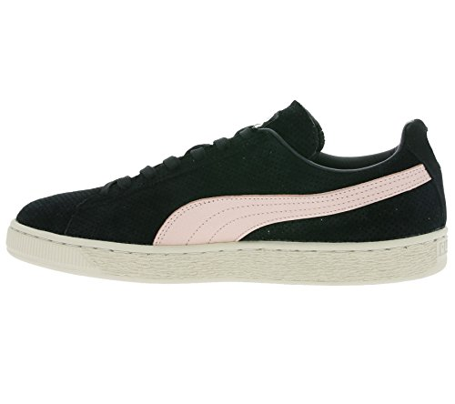 Puma Suede Valentine His and Hers Scarpa nero rosa