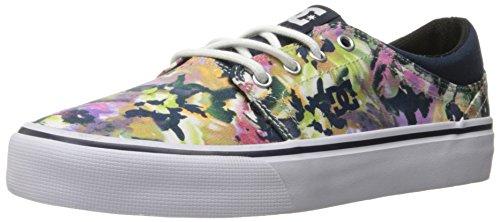 DC Women\'s Trase TX SE Skate Shoe, Multi, 5 M US