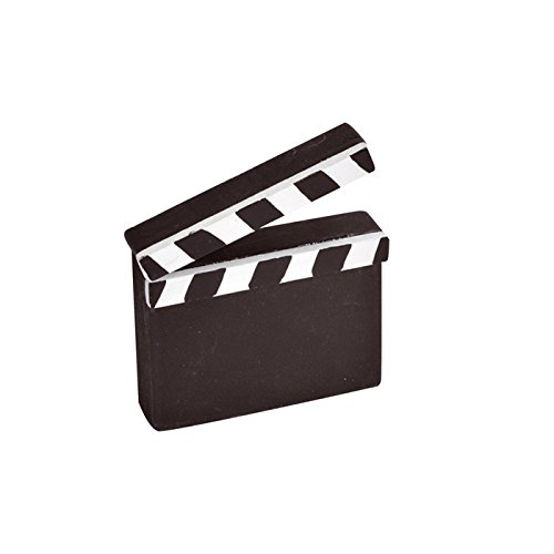 PARTY DISCOUNT NEU Namensschild Cinema, Mini-Regieklappe, 2 -