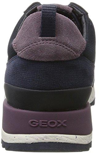 Geox Damen D Aneko B Abx A Sneaker Blau (navy)
