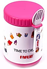 Farlin 500cc Yammy Warmer Can and Baby Food Storage Container Large (Pink)