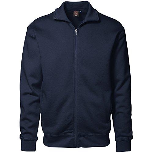 """Preisvergleich Produktbild Pionier 41341-S Sweatshirtjacke 622"""" Größe S, Marineblau, S"""