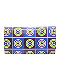 Anekaant Womens Wallet (Blue)