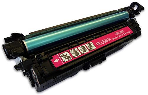 Bubprint Toner kompatibel für HP CE403A 507A für LaserJet Enterprise 500 color M551DN M551N M575 DN M577DNM Pro 500 color MFP M570DN M570DW Magenta - Hp Color M551n-drucker Laserjet