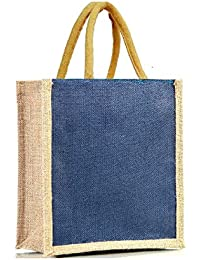 100 % Handcrafted Jute Lunch Bag, Water Proof Jute Fabric, Eco Friendly, Bio Degradable & Recylable, Proudly Made...
