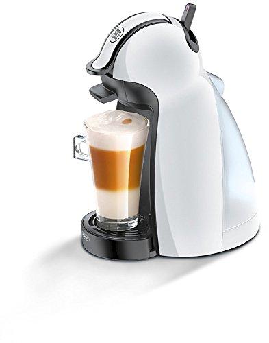 Nescafe Dolce Gusto - Cafetera de cápsula, 100 W, 0.6 l, 15 bar, color blanco y negro