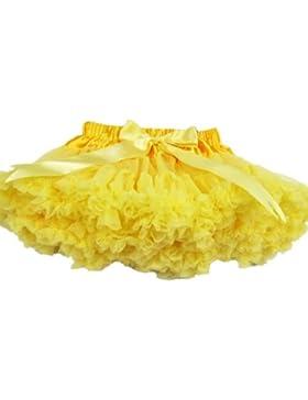 Buenos ragazzini in colore ragazza Pettiskirt gonne Dance per bambini a forma di tutù per abiti da donna gonna...