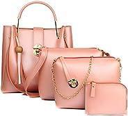 Mammon Women's Handbag (Set of 4) (4L-bib-Bpink_P