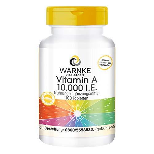 Vitamina A per integrazione alimentare