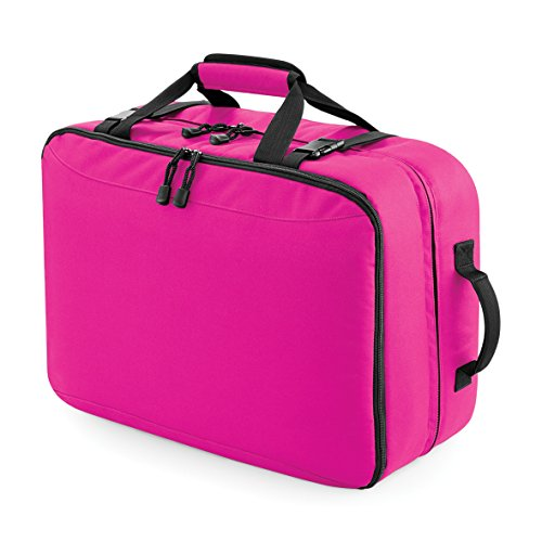 Ultimate Cabin Carry All Backpack by BagBase Fuchsia