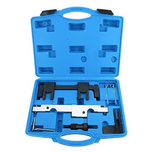 FreeTec Nockenwellenversteller Nockenwelle Steuerkette Wechsel Motor Werkzeug Arretierwerkzeug Satz für BMW N43 116i 118i 316i 318i 320i 520i B16/20
