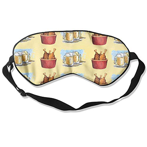 Sleeping Eye Mask The Fried Chicken And Beer -