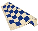 ChessCentral Vinyl Blue and Buff Chess B...