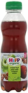 Hipp Organic Mixed Fruit Juice with Mineral Water 500 ml (Pack of 6)