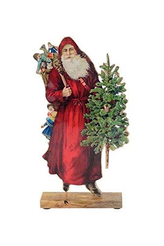 Gift Company X-Mas Décoration de Noël en Forme d'objets de décoration rétro avec Sapin en émail Tailles :