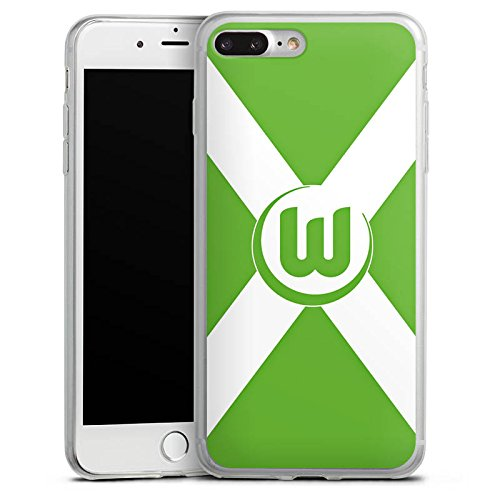 Apple iPhone X Slim Case Silikon Hülle Schutzhülle Vfl Wolfsburg Fanartikel Bundesliga Silikon Slim Case transparent