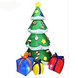 7 FT aufblasbarer Weihnachtsbaum, Weihnachtsaufblasbarer Baum,...