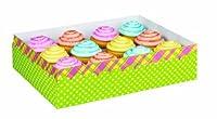 Cupcake Box W/Lid-Easter Hop & Tweet 1/Pkg