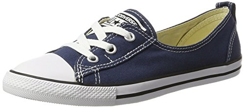 Converse CTAS Ballet Lace-Slip-Navy-Women, Baskets Slip-on Femme