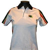 Lotto Polo Becker Legend Junior, joven, color blanco/negro/rojo/verde/amarillo, infantil, color wei�/schwarz/ro, tamaño 164