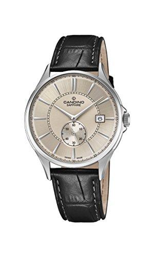 Candino Reloj Análogo clásico para Hombre de Cuarzo con Correa en Cuero C4634/2
