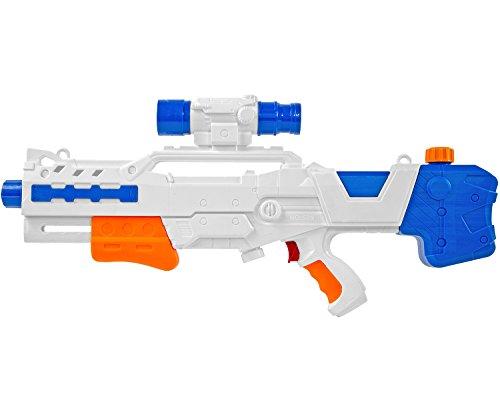 Pistole Wasser-Pistole Pool-Kanone Mega Wasser-Gewehr Wasser-Spielzeug Wasser-Spritz-Pistole Wasser-Spritze Kunststoff 60 cm ()