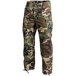 Helikon Hommes SFU Next Pantalons US Woodland Polycoton Ripstop Taille XXL Reg