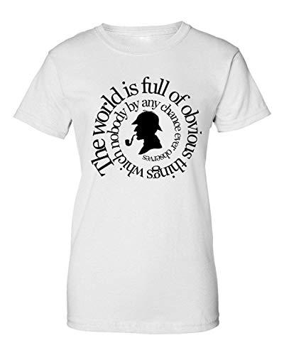 2b Sherlock The World Camiseta de Mujer XX-Large