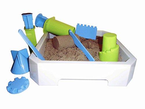 *Kinetic Sand WABA Fun 2,5 kg + Modellierwanne + Modellierwerkzeug*