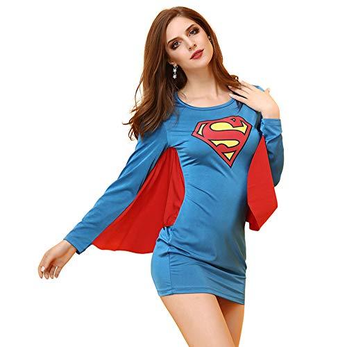 rumpfhosen Superman Cosplay Anime KostüMe Performance Kleidung ()
