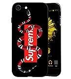 Elizabeth Wilhel SUP x GG Snake Logo iPhone 6/6S Custodia, Custodia Cover Slim Anti Scivolo Custodia Protezione Posteriore Cover Antiurto per iPhone 6/6S - GU006