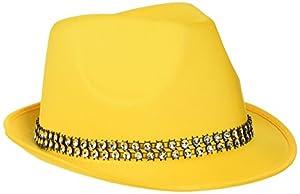 Reír Y Confeti - Fiedis060 - Disfraces de accesorios - Fun Sombrero Amarillo