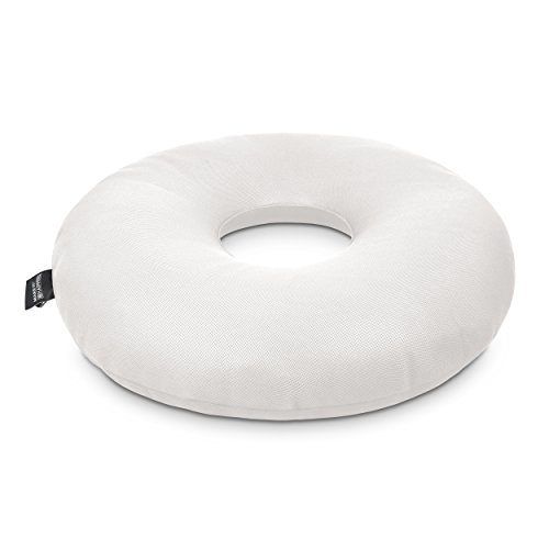 HAPPERS Puff Donut Transpirable 3D Blanco