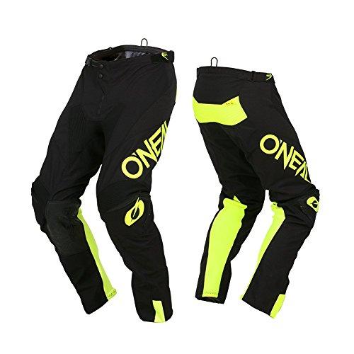 O'Neal Mayhem Lite Motocross Hose Hexx Ambush DH FR Cross Bike Freeride Enduro Gelände Motorrad, 030M, Farbe Neon Gelb, Größe 40