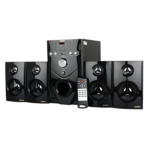 Krown Mini DJ 5.1 Home Theater 5000 Watt PMPO with USB & AUX KDH-11