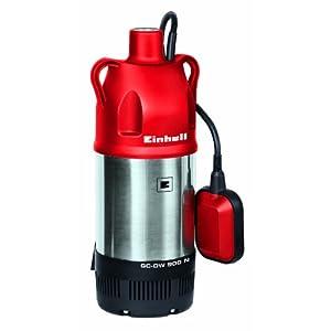 Einhell GC-DW 900N – Bomba de agua de profundidad para pozos (900W, capacidad de 6.000l/h, profundidad max. de 7m…